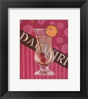 Daiquiri Framed Print