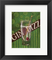 Gin Fizz Framed Print