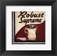 Robust Supreme Framed Print