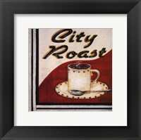 City Roast Framed Print