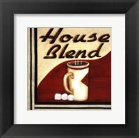 House Blend Framed Print