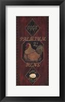 Framed Premium Hens