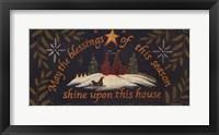 Blessings of the Seasons Framed Print