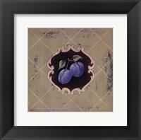 Prune Framed Print