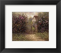 Framed Rose Gate