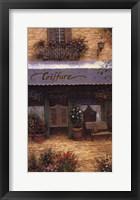 Coiffure Framed Print