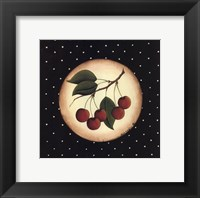 5 Cherries Framed Print