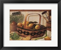 Lemon Thyme Framed Print