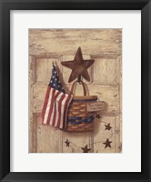 One Nation Under Framed Print
