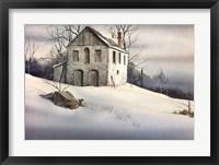 Framed Gentle Snow