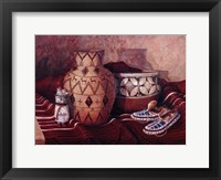 Tribal Heritage Framed Print