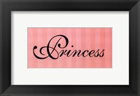 Princess Framed Print