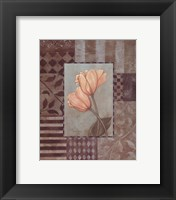 Framed Small Tulips
