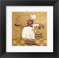 Framed Seafood Chef