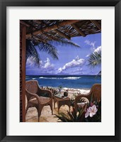 Framed Paradise Porch