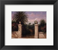 Framed Palm Gate I