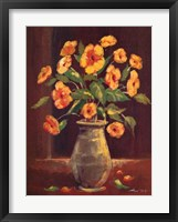 Framed Flowers in a Vase I
