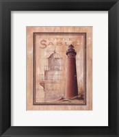Framed Little Sable Lighthouse