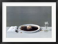Framed Pig in Soup