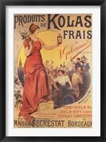 Framed Produits de Kolas Frais