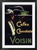 Framed Cafes Chocolats