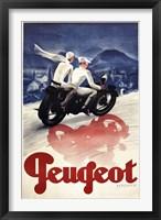 Framed Peugeot