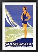 Framed San Sebastian
