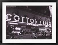 Framed Cotton Club