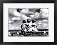 Framed Entre Nous