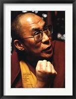 Framed Dalai Lama-Love and Compassion