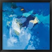 Framed Bleu