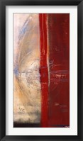 Framed Lignes Rouges II