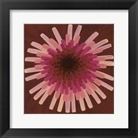 Red Dandelion III - 2002 Framed Print