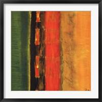 Framed Lucky Stripes II