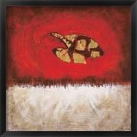 Framed Harmony in Red II