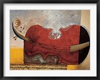 Framed Le Repos Du Violon