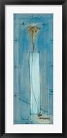 Framed Trompetenblume Blau I