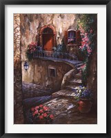 Amalfi Coast Passage Framed Print