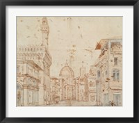 Framed Firenze Perspective