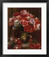 Anemone Bouquet Framed Print