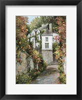 Regency House, Lucerne Framed Print