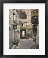 Framed Italian Country Village II