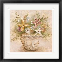 Framed Floris Botanica II
