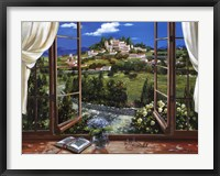 Framed Montecatini View