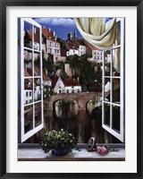 Framed Ponte Rosso