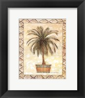 Framed Palm Tree II