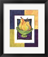 Pears Framed Print