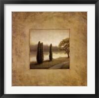 Isle Pathway II Framed Print