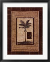 Safari Palm II Framed Print