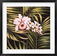 Framed Tropical Bouquet III